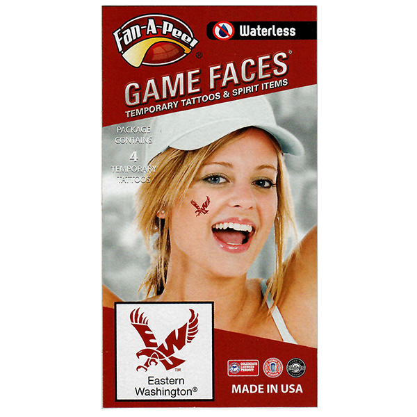 Image For GAME FACES TATTOOS