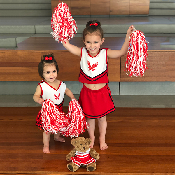 Cover Image For EWU TODDLER/CHILD CHEERLEADER OUTFIT