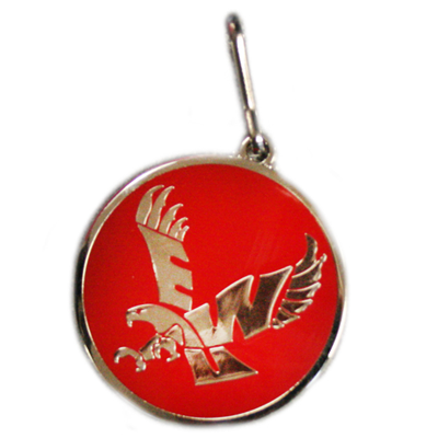 Image For FLYING EAGLE ZIPPER PULL
