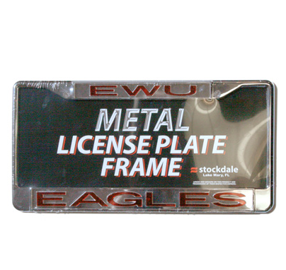 Image For EWU EAGLES LICENSE PLATE COVER