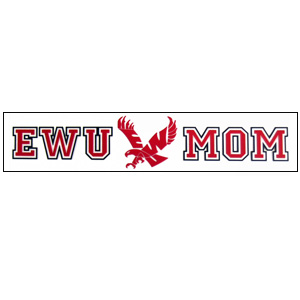 Image For EWU MOM WINDOW CLING