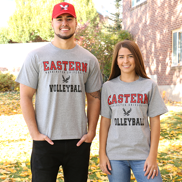 Image For EASTERN VOLLEYBALL T-SHIRT