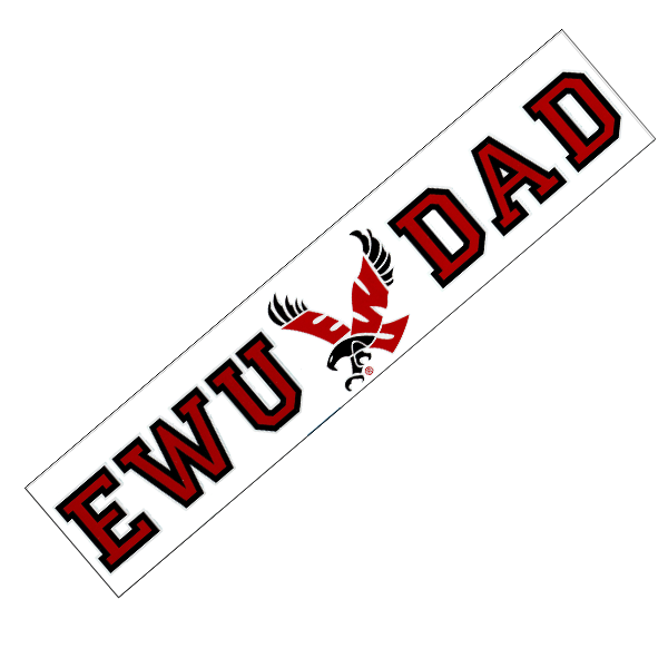 Image For EWU DAD DECAL