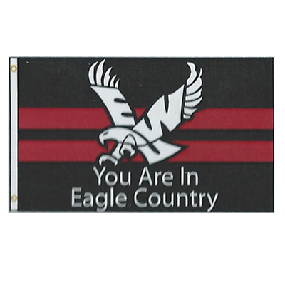 Image For EAGLE COUNTRY FLAG 3X5
