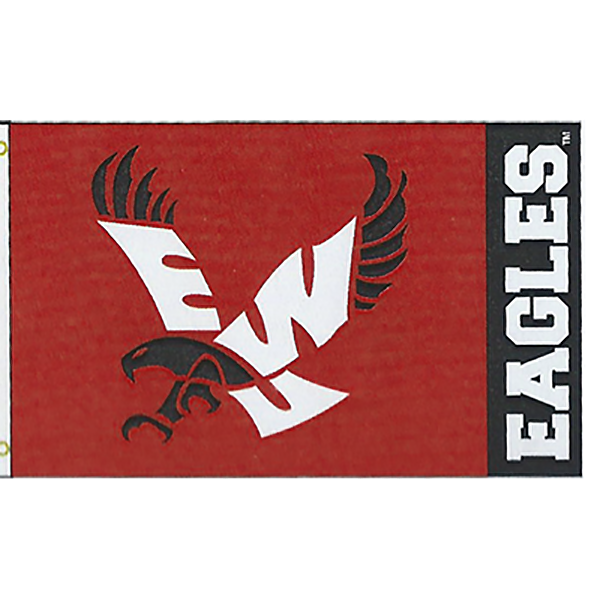 Image For RED EAGLE FLAG 3X5'