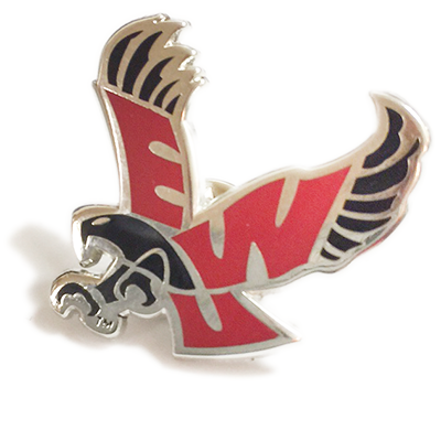 Image For FLYING EAGLE LAPEL PIN