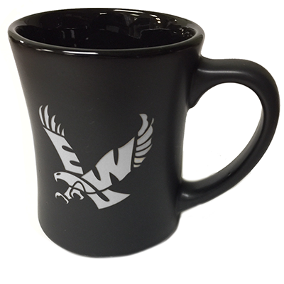 Image For FLYING EAGLE MATTE ETCHED MUG