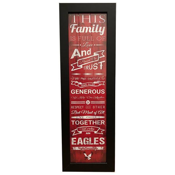 Image For EAGLE FAMILY WALL FRAME