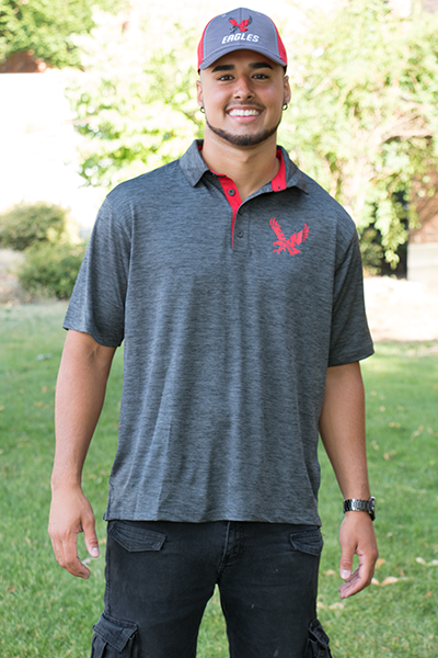 Image For SPACEDYED POLO SHIRT