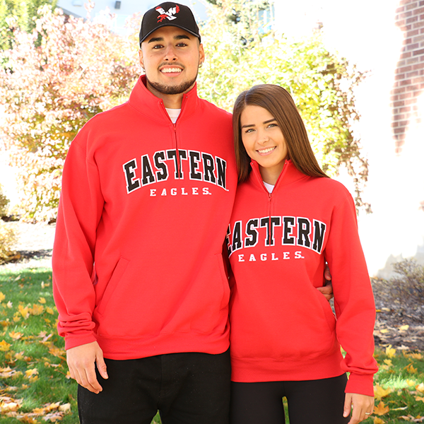 Image For EASTERN EAGLES 1/4 ZIP PULLOVER