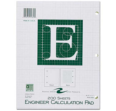 Image For ENGINEER COMP PAD 200CT