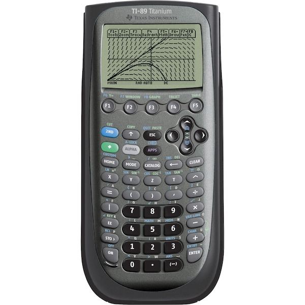 Cover Image For CALCULATOR- TI 89 TITANIUM