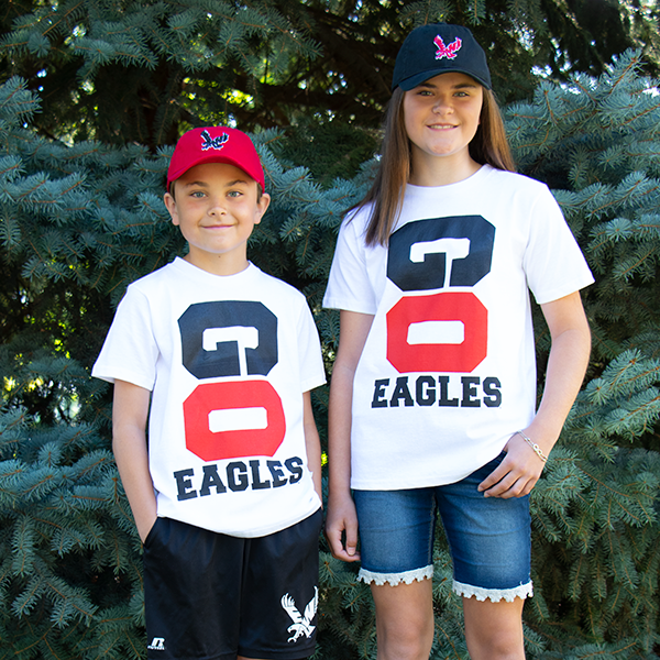 Image For GO EAGLES TEE YOUTH