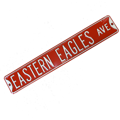 Cover Image For EASTERN EAGLES STREET SIGN