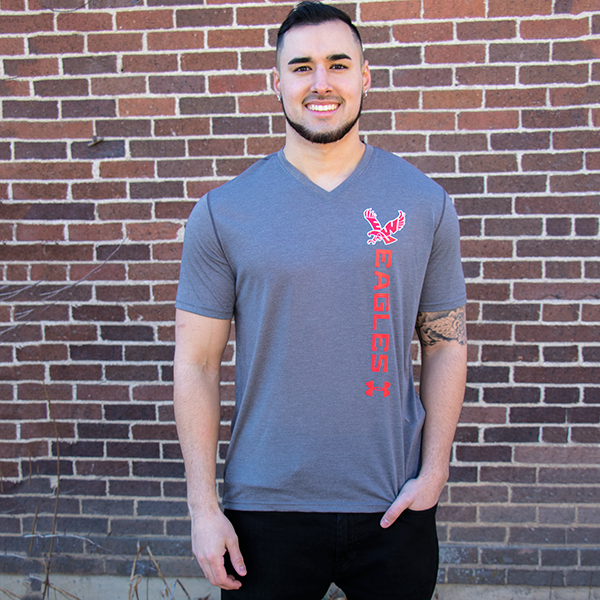 Image For UNDER ARMOUR V-NECK T-SHIRT