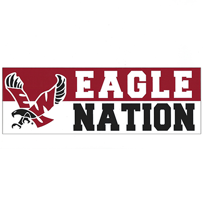 Image For EAGLE NATION STICKER