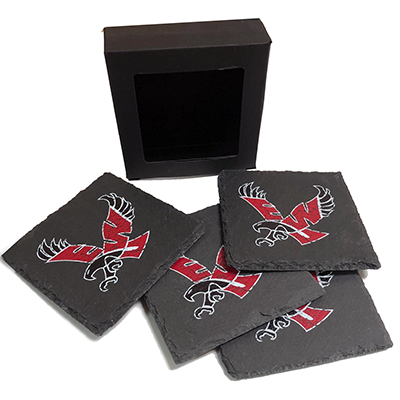 Image For 4PK SLATE COASTERS
