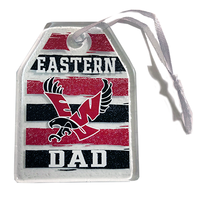 Image For DAD GLASS ORNAMENT