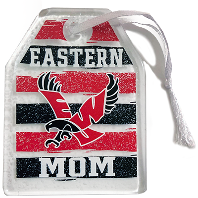 Image For MOM GLASS ORNAMENT