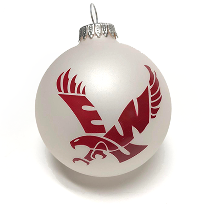 Image For WHITE ROUND ORNAMENT