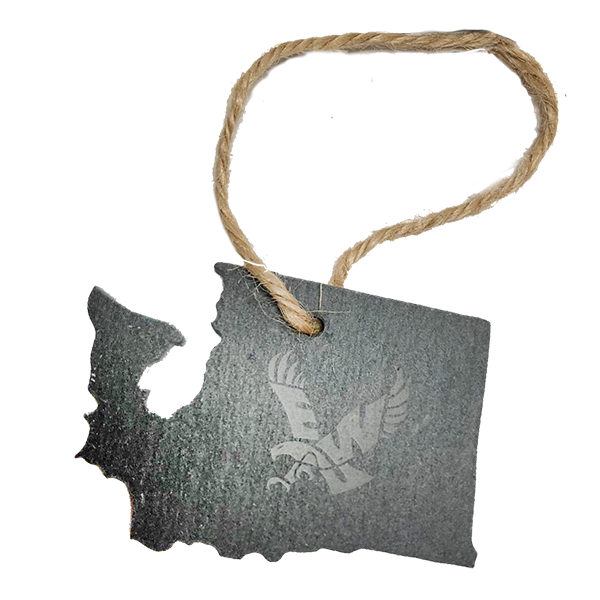 Image For STATE SLATE ORNAMENT