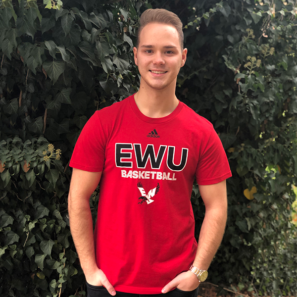 Image For ADIDAS EWU BASKETBALL TEE