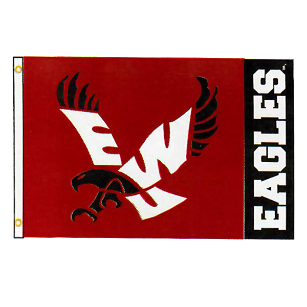 Image For RED EAGLE FLAG 4X6