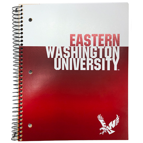 Image For EASTERN WASH 3 SUBJECT NOTEBOOK
