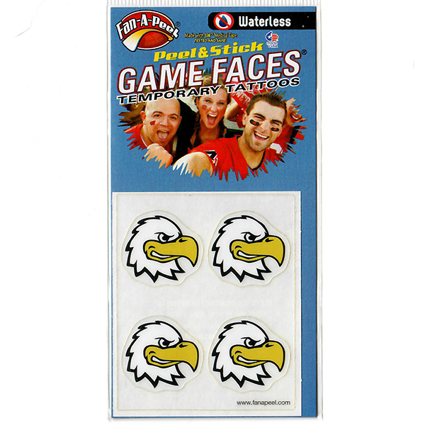 Image For SWOOP GAME FACES TATTOO