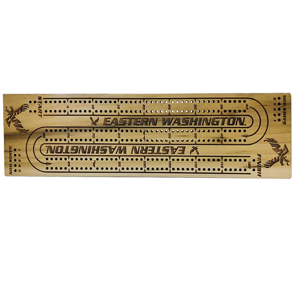 Image For EAGLE CRIBBAGE BOARD