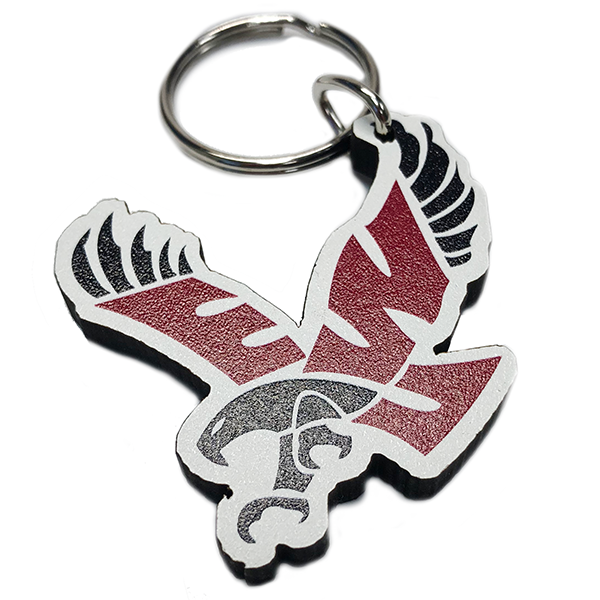 Image For EAGLE WOOD KEYCHAIN
