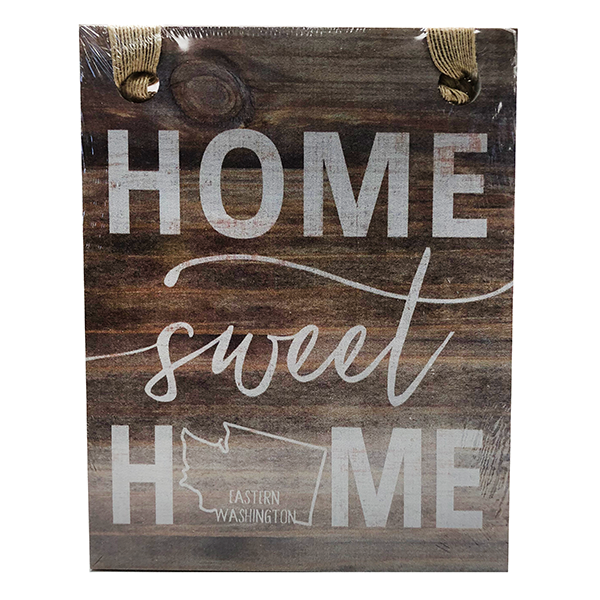 Image For HOME SWEET HOME WALL PLAQUE