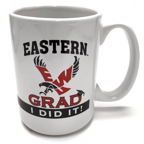 Image For I DID IT! GRAD MUG