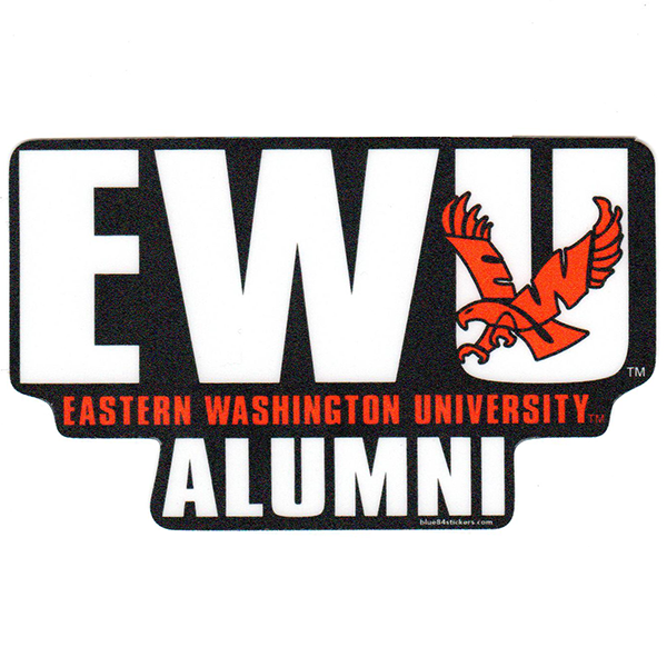 Image For EWU ALUMNI REC STICKER