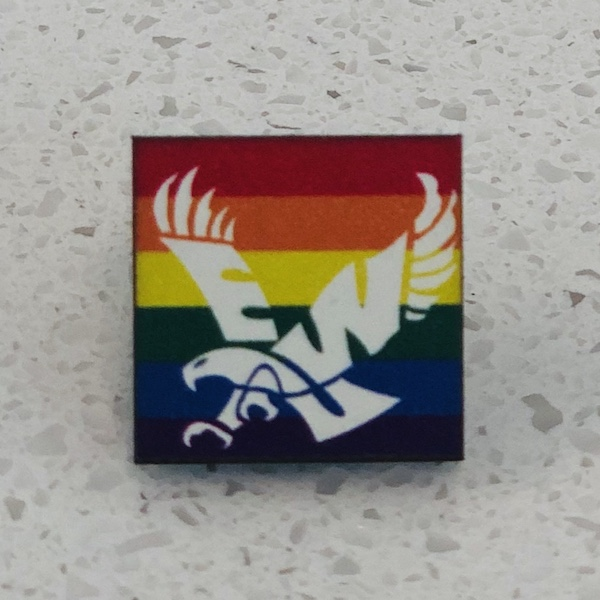 Cover Image For EAGLE PRIDE PIN