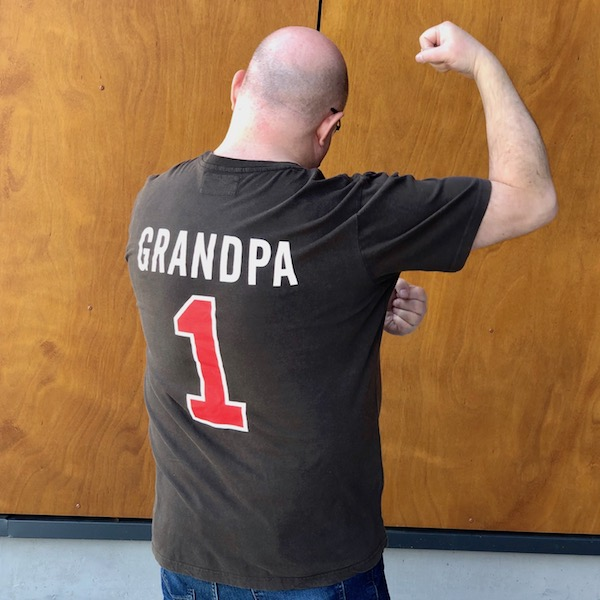 Cover Image For #1 GRANDPA TEE