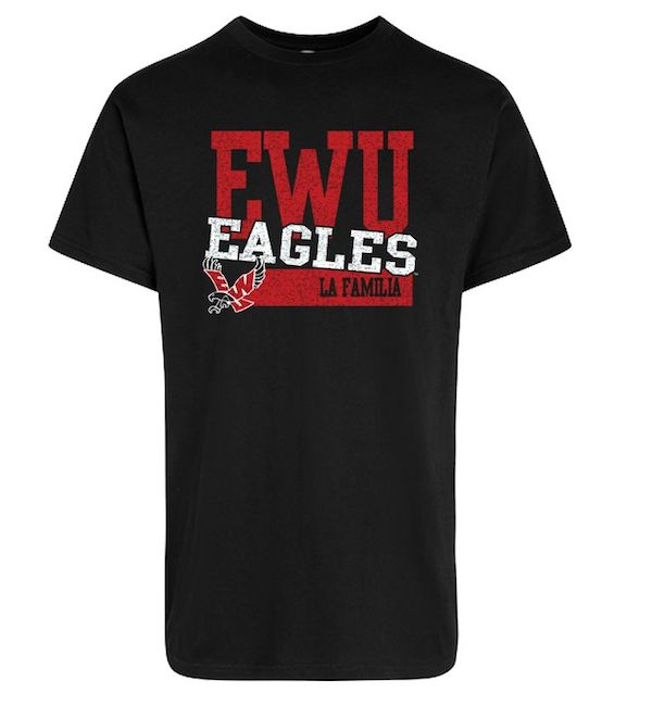 Cover Image For EWU LA FAMILIA TEE