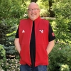 Cover Image for ADIDAS BUILT SHORT SLEEVE 1/4 ZIP JACKET