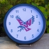 "Cover Image for 14"" EAGLE CLOCK"