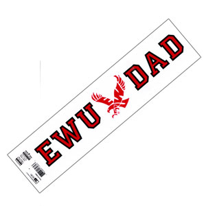 Cover Image For EWU DAD DECAL