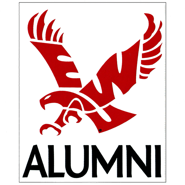 Image For EWU ALUMNI WINDOW DECAL