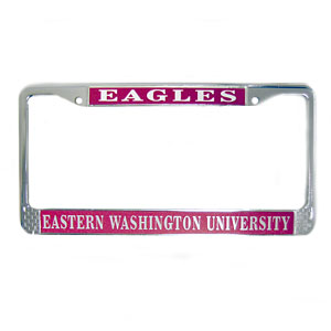 Image For EAGLES LICENSE PLATE COVER