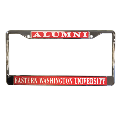 Image For ALUMNI LICENSE PLATE COVER